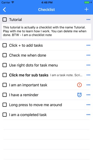 Checklist To Do  Task Lists on the App Store