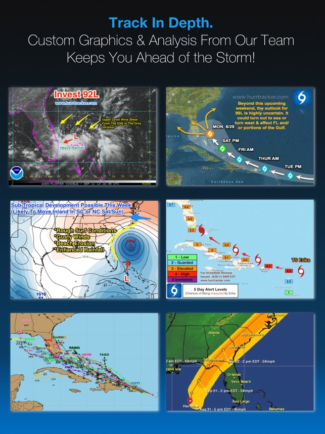 Hurricane Tracker For iPad on the App Store
