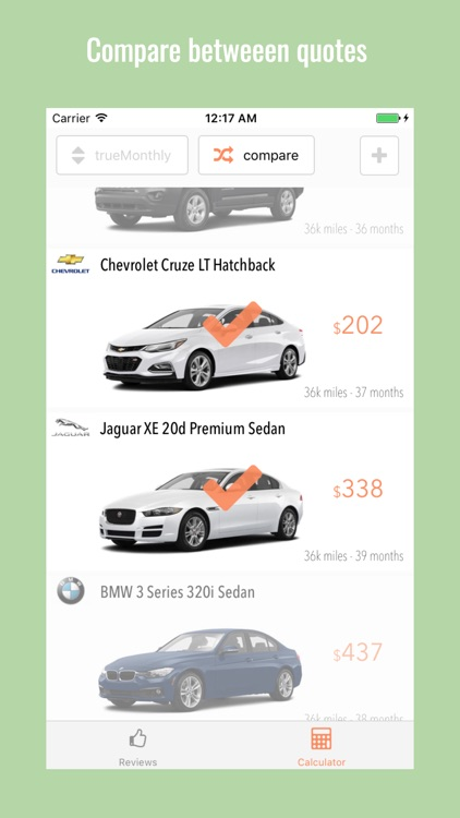 WishLease - car lease calculator and beyond by WishLease Inc