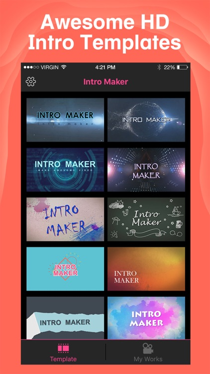 Intro Maker- yt intro designer by zhang dan