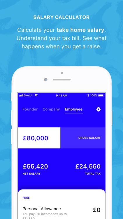 Tuppence - Salary Calculator by Ourselves