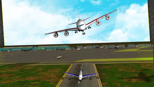 Transport Plane Landing on the App Store