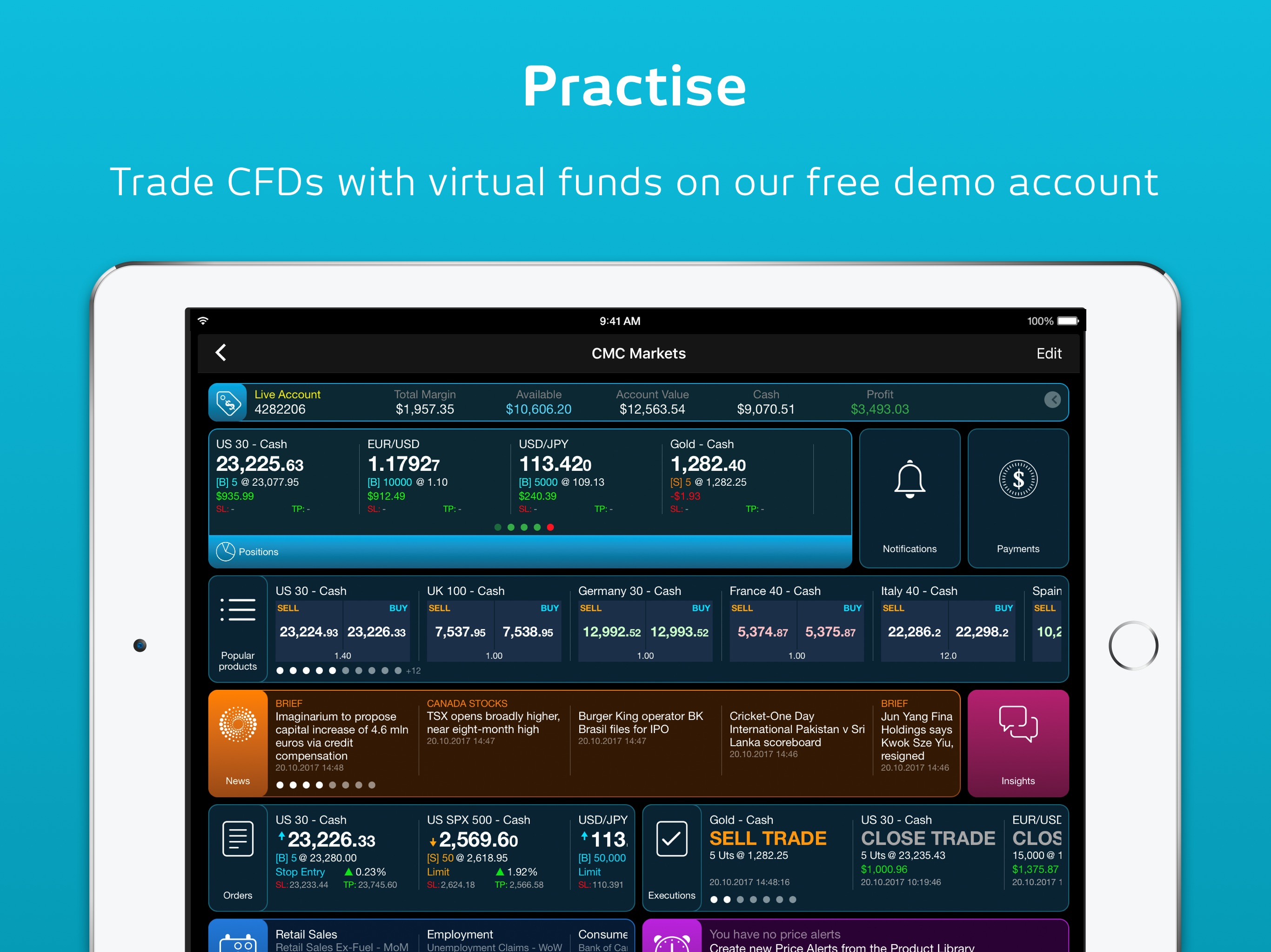 Share Trading Vs Cfd Cmc Cfd Trading For Ipad Aso Report And App Store Data