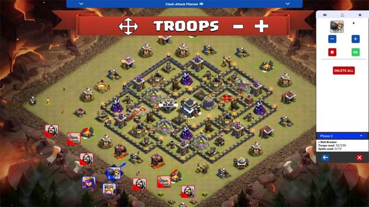 Clash Attack Planner by Dragon Tech App Designs