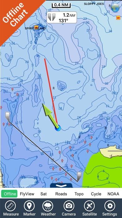 Mille Lacs Lake GPS charts fishing maps Navigator App Price Drops