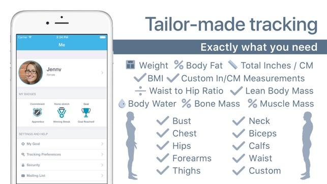 body measurement tracking - Acurlunamedia