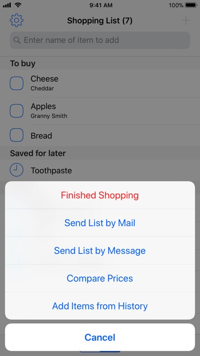 Easy Shopping List App Price Drops - Shopping List And Prices