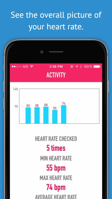 My Heart Rate Monitor  Pulse Rate - Activity Log for Cardiograph