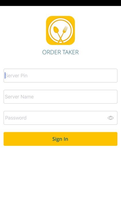 Order Taker - The Staff App by Aurus Mobile - order taker