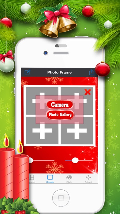 Christmas Photo Collage Maker - Swag Selfies With Pic Frame Ex