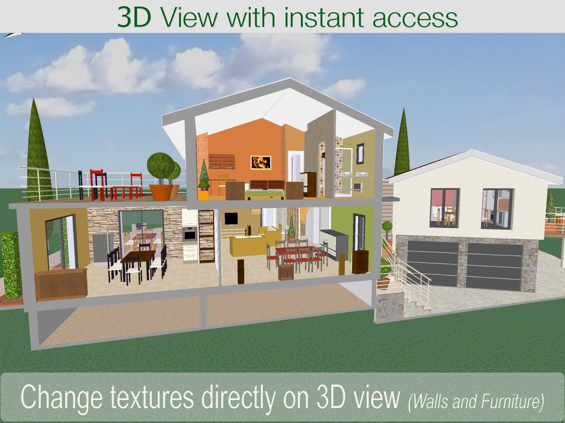 3d Home Architouch 3d Home Design Ipad App Appwereld