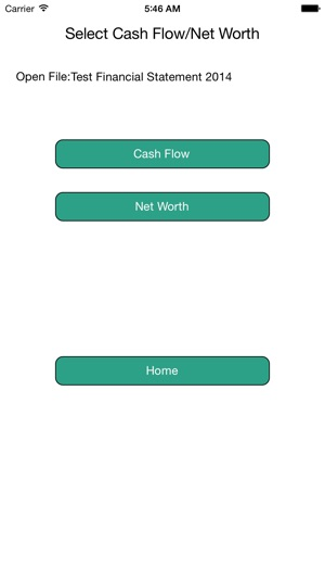 Financial Statement on the App Store