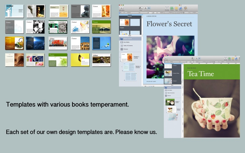 Templates for iBooks Author - App - App Store