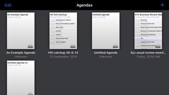 Agenda Maker on the App Store
