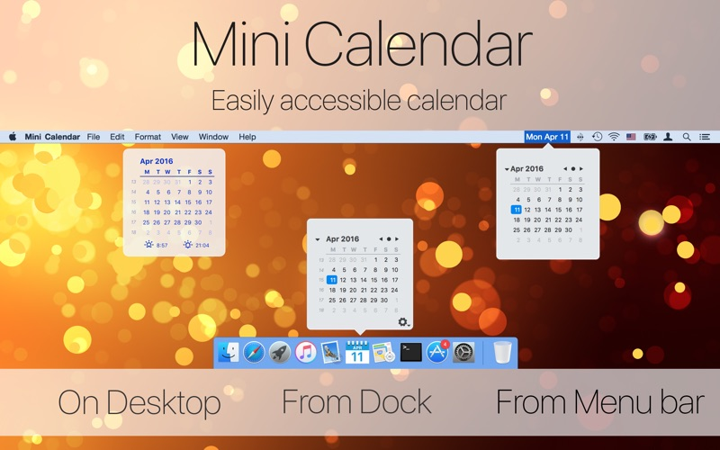 Mini Calendar App Price Drops