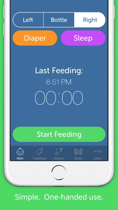 Baby Feeding Log - Newborn Breastfeeding, Bottle and Nursing Tracker