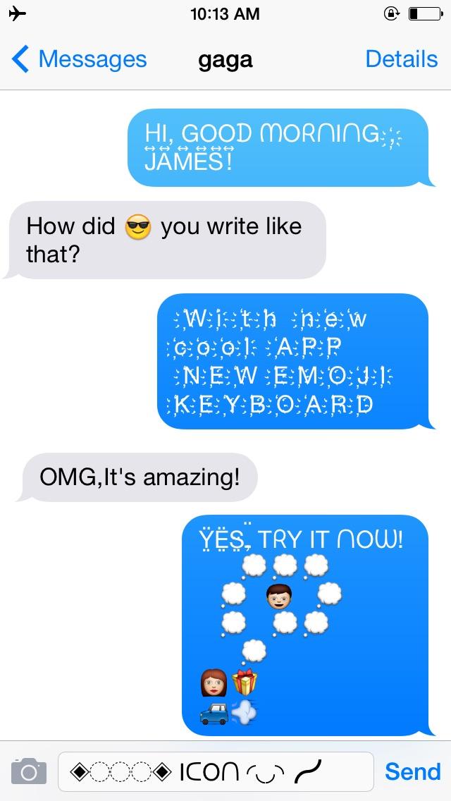 New Emoji Keyboard Free - Cool New Emoji Art FontText Styles For - cool text message art