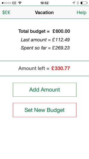 Vacation Budget Tracker on the App Store - vacation tracker app