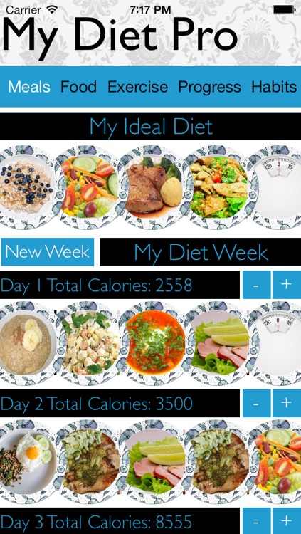 My Diet Pro - Track your diet, exercise and bad habits by OCD Inc