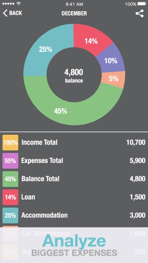 Budget Calculator - Personal Financial Planning Money Manager on the