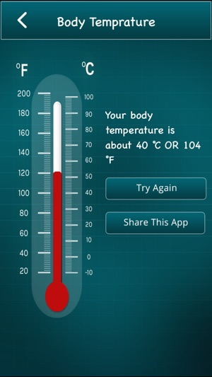 Finger Body Temperature on the App Store