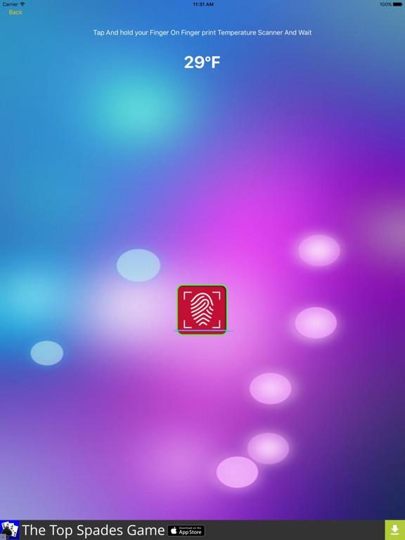 FingerPrint Body Temperature Scanner Prank App Price Drops