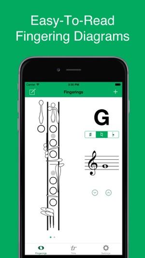 Register - Clarinet Fingerings on the App Store