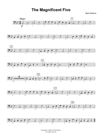 Accent on Performance March Collection for Baritone Bass Clef by - bass cleft sheet music