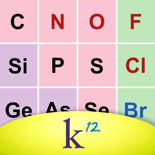 K12 Periodic Table of the Elements - AppRecs