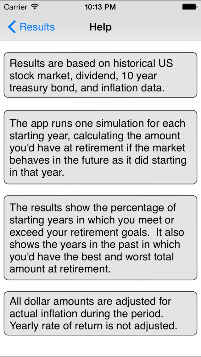 Retirement Savings Calculator Lite - by Michael Kale - Finance