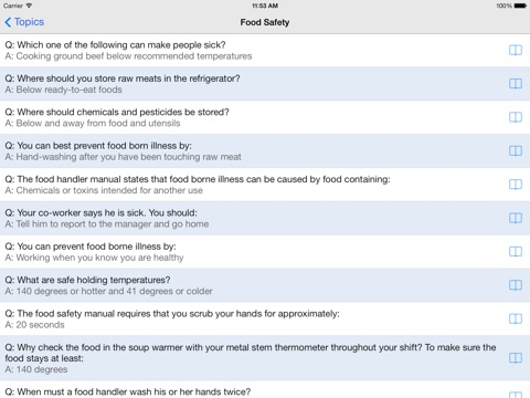 food and safety test answers - Muckgreenidesign