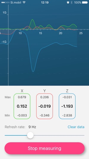 Accelerometer on the App Store