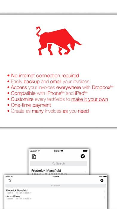 Invoice Maker Platinum Essential PDF Invoicing  Mobile Estimates