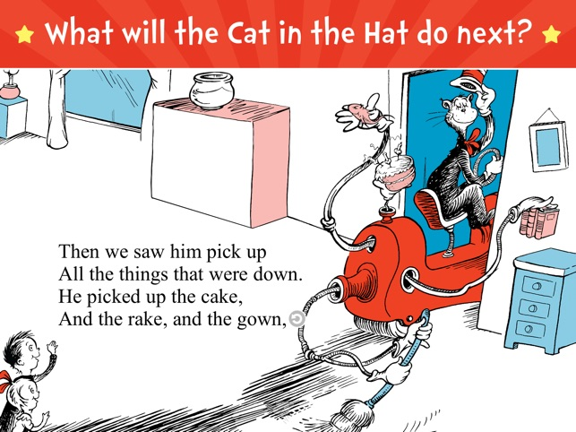 The Cat in the Hat on the App Store