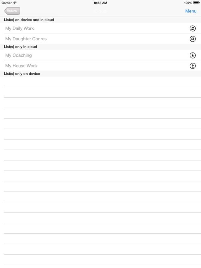 Chore Checklist on the App Store