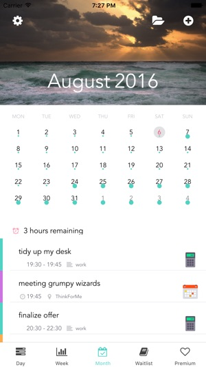 ThinkForMe \u2013 smart Calendar Task List  Diary on the App Store