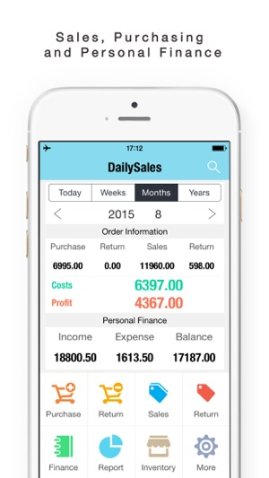 Daily Sales Tracker-Sales Items,Storage, Inventory on the App Store