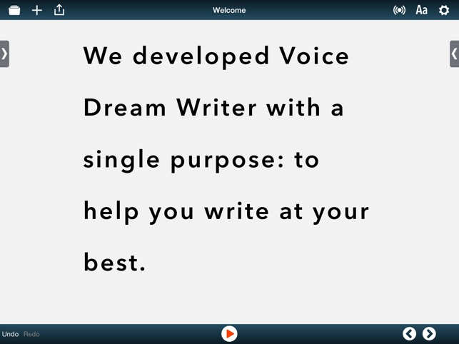 Voice Dream Writer on the App Store