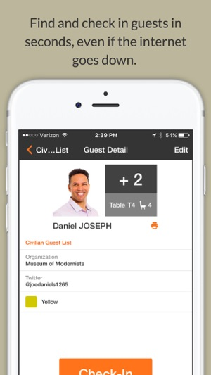 Guest List App zkipster on the App Store