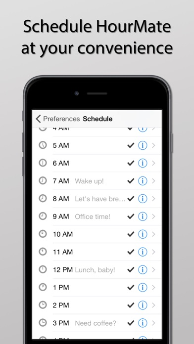 HourMate - Hourly Chime  Time Reminder for Keeping Track of Your