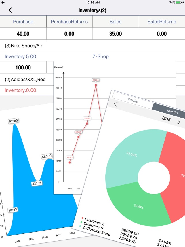 Daily Sales Tracker Pro-Retail Invoicing Software on the App Store - sales tracker software
