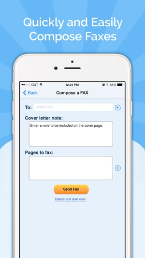Fax Burner Send  Receive Fax on the App Store