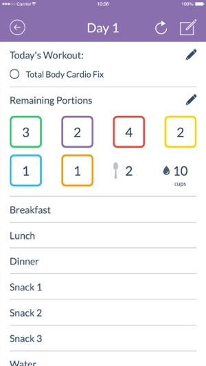 21 Day Fix® Tracker \u2013 Official on the App Store