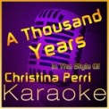 Free Download High Frequency Karaoke A Thousand Years (In the Style of Christina Perri) [Karaoke Instrumental Version] Mp3