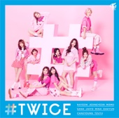 TWICE - #TWICE - EP アートワーク