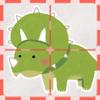 Yasukazu Umekita - こどものスライドパズル「恐竜!」 アートワーク