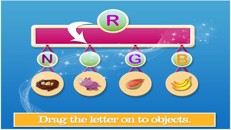 Learn Alphabets Word Activity by Pravinkumar Parmar - word alphabets