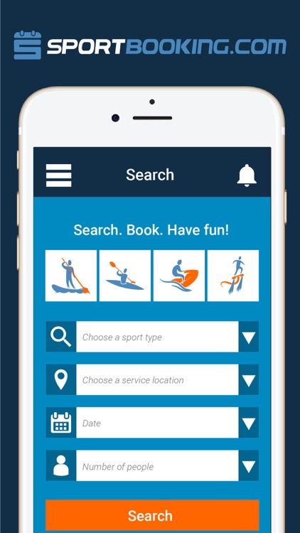 SportBooking - Sport Activities Booking App by SportBooking Inc - booking app