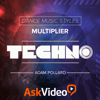 ASK Video - Techno Dance Music Course アートワーク