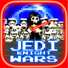 Block Games - Jedi Knight Wars - LightSaber SciFi Battle for the Star Force 3D Mini Game アートワーク